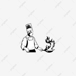 Chef Silhouette Vector Object For Labels And Badges Restaurant Logo Chef Logo Hat Symbol Logo Icons Restaurant Icons Chef Icons PNG and Vector with Transparent Background for Free Download