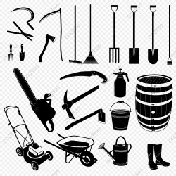 Garden Tools PNG Images Vector and PSD Files Free Download on Pngtree
