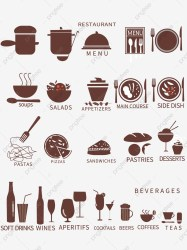Restaurant Menu Silhouette Pictures Restaurant Menu Silhouette Vector Material Restaurant Menu Silhouette Template Download Restaurant Menu Silhouette PNG Transparent Clipart Image and PSD File for Free Download