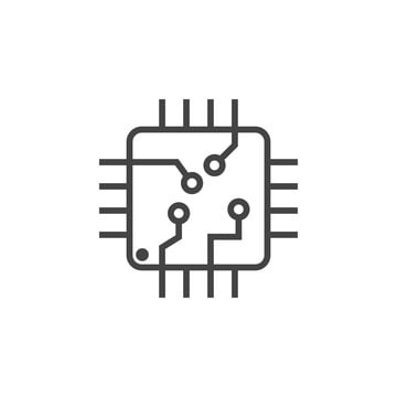 Integrated Circuit Png, Vector, PSD, and Clipart With