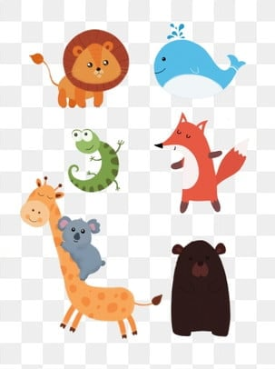 Cute Animals Png : animals, Animal, Clipart,, Download, Transparent, Format, Clipart, Images, Pngtree