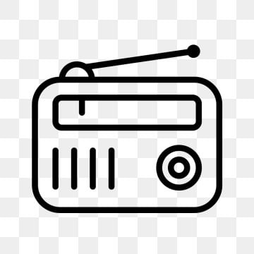 Radio Png, Vector, PSD, and Clipart With Transparent