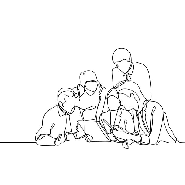Group Of Office Worker Discussing A Project Concept Of