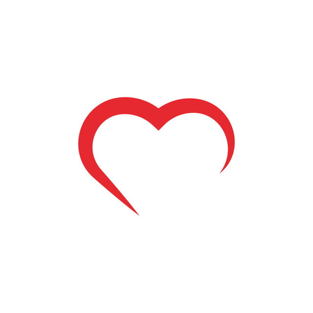 Download Love Heart Icon Design Template Vector Isolated, Heart ...