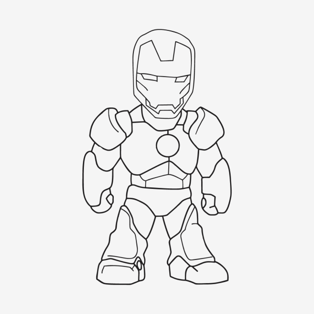 Sketch Of Iron Man, Sketch, Ironman, Power PNG and Vector