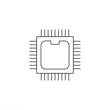 Server, Processor, Host Computer PNG Image and Clipart for
