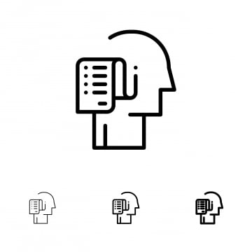Human Relation Black Line Icon 25 Business Outline Icon