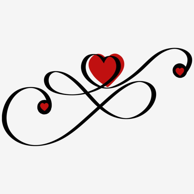 Download Heart Love Infinity With Ornaments, Heart Love, Love ...
