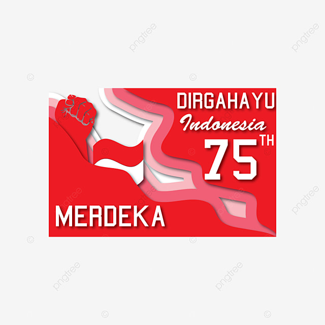 Vpapper Craft Vector Indonesia Dirgahayu 75 Papper Craft Vector Indonesia Dirgahayu 75 Dirgahayu Merdeka Png And Vector With Transparent Background For Free Download