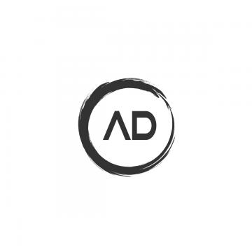 ad letter logo Template for Free Download on Pngtree