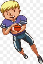 students football enrollment training student athlete rugby doing vector clipart pngtree middle