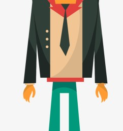 flat business man business vector man vector business clipart png and vector [ 650 x 1301 Pixel ]