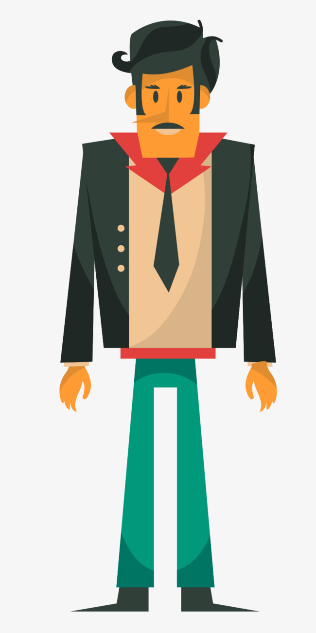 medium resolution of flat business man business vector man vector business clipart png and vector
