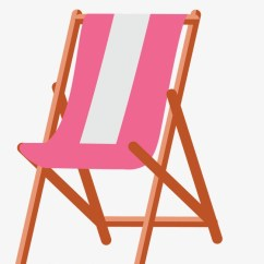 Pink Beach Chair Wooden High Hardware Holiday Vector Chairs Png And