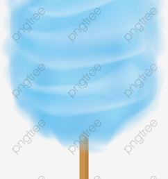 dream blue cotton candy png clipart [ 1200 x 2118 Pixel ]