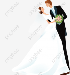 commercial use resource upgrade to premium plan and get license authorization upgradenow cartoon bride and groom  [ 1200 x 1367 Pixel ]