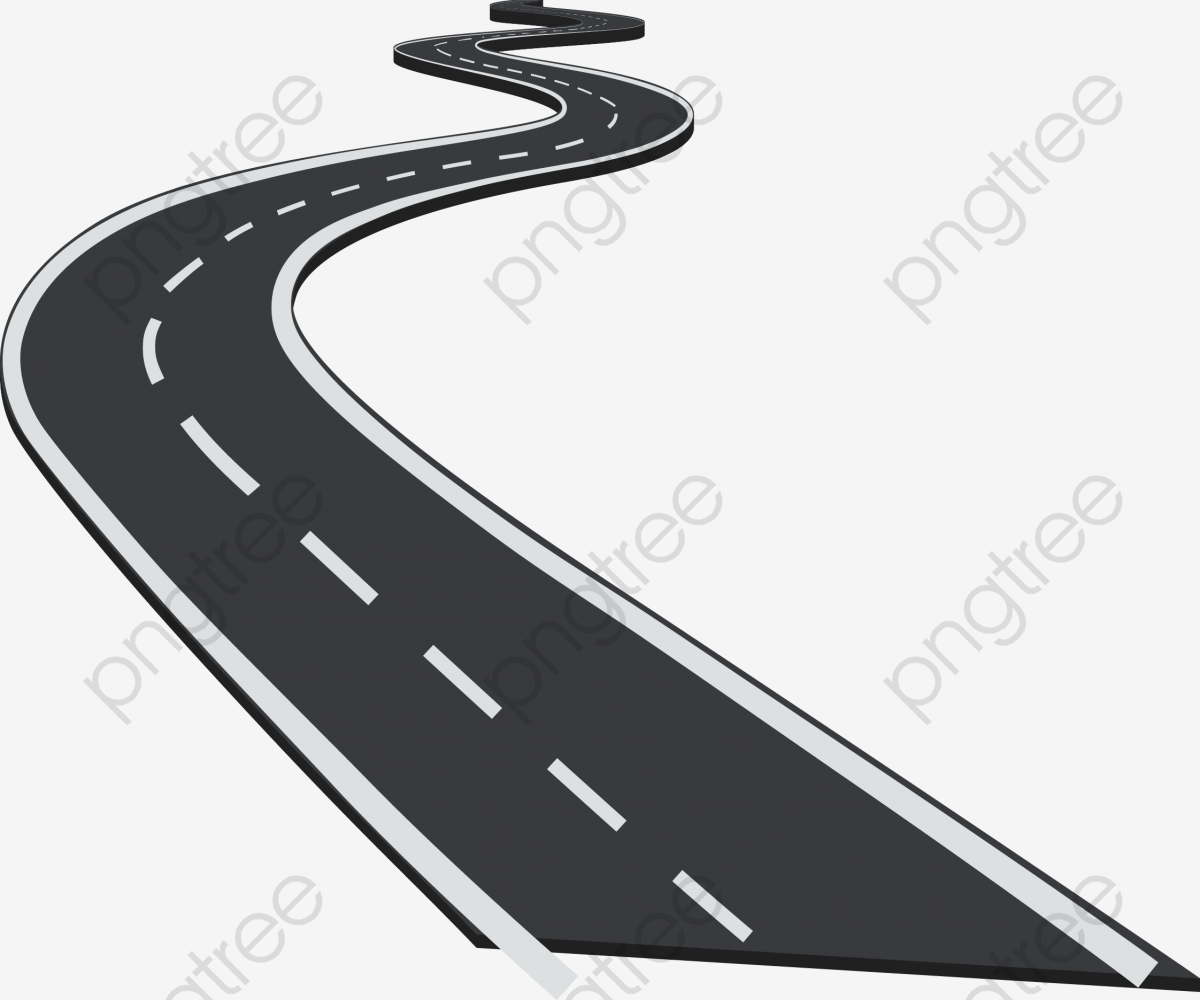 hight resolution of winding road png clipart