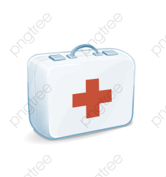 first aid kit medical kit png clipart [ 1000 x 1000 Pixel ]