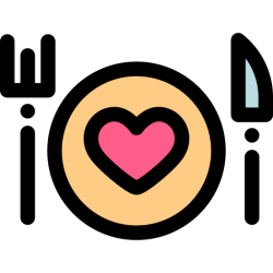 dinner icon food icons drinks valentines cooking svg valentine pngtree simple care categories