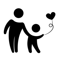 icon shopping parent child extraordinary activities icons commerce pngtree category والطفل الام svg