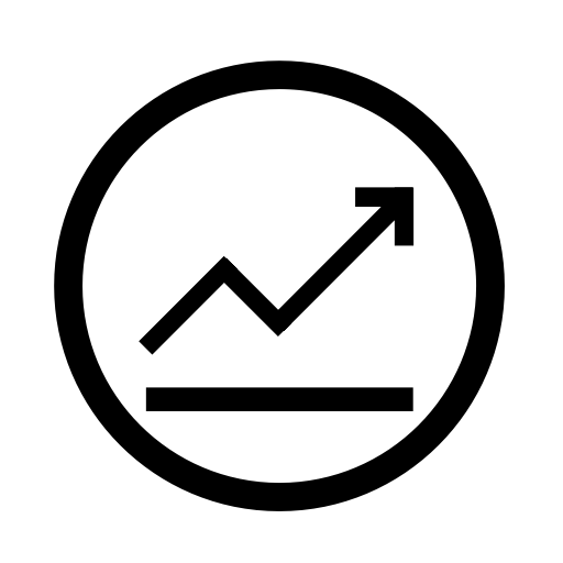 Opsition Gain And Loss Icon With PNG and Vector Format for