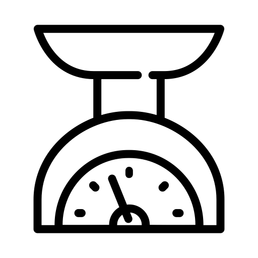 Weighing Scale, Weighing, Weight Machine Icon With PNG and