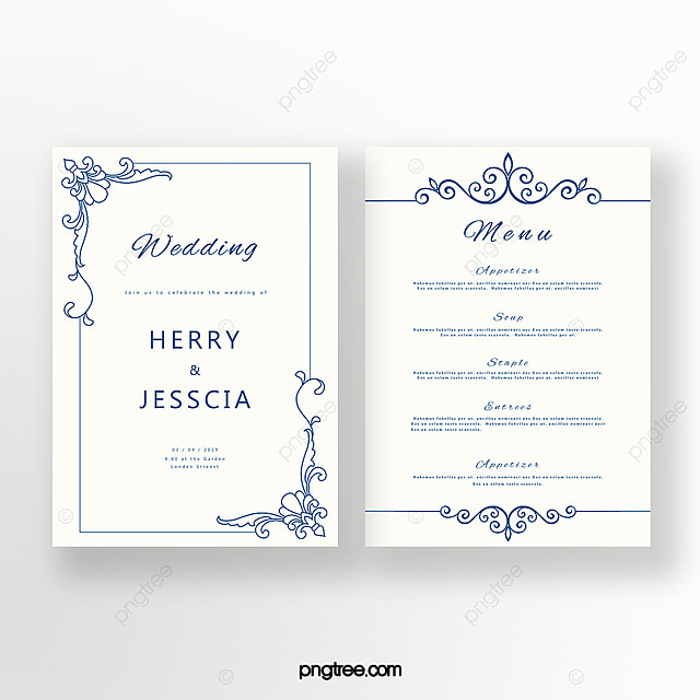 Wedding Invitation Letter Template
