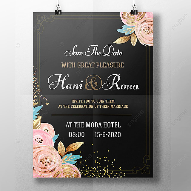 Royal Wedding Invitation Template For Free Download On Pngtree