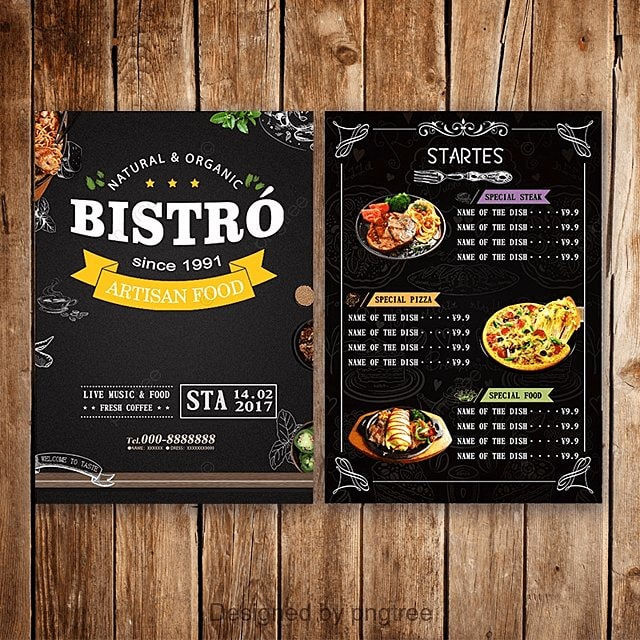 Menu Templates Template for Free Download on Pngtree