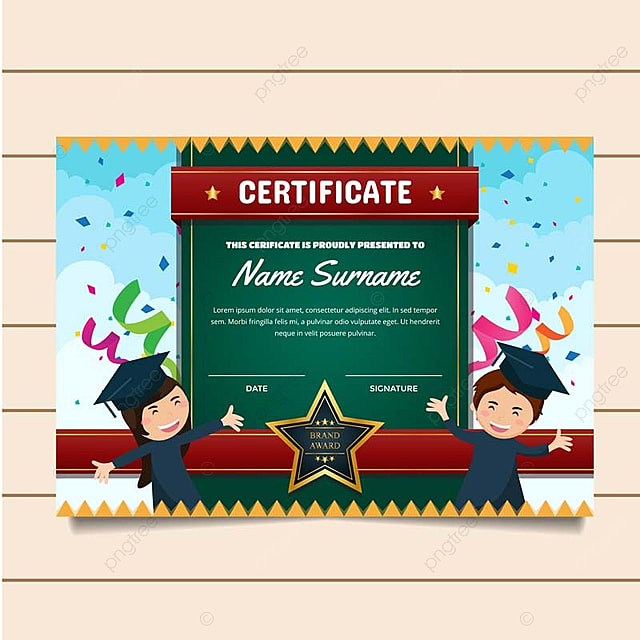 image of certificate of achievement