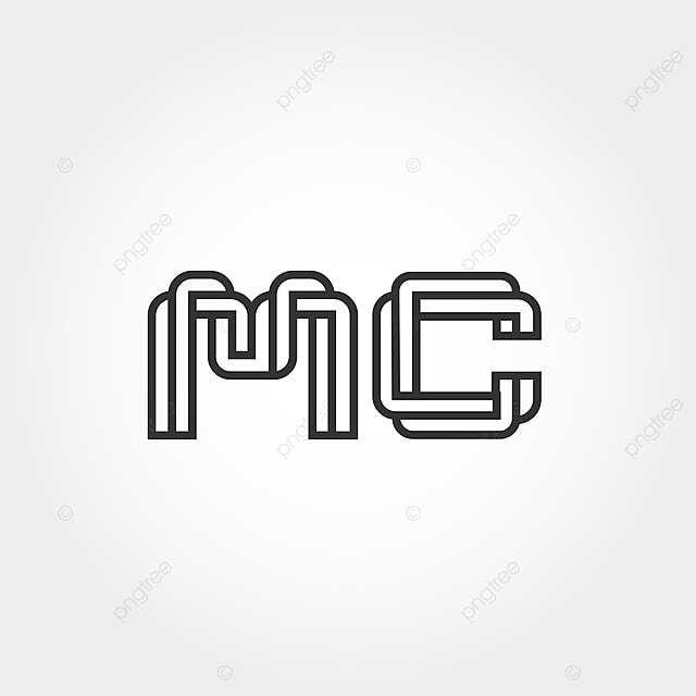 Initial Letter Mc Logo Template Template for Free Download
