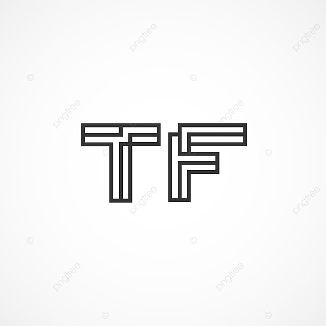 Initial Letter Tf Logo Template Template for Free Download