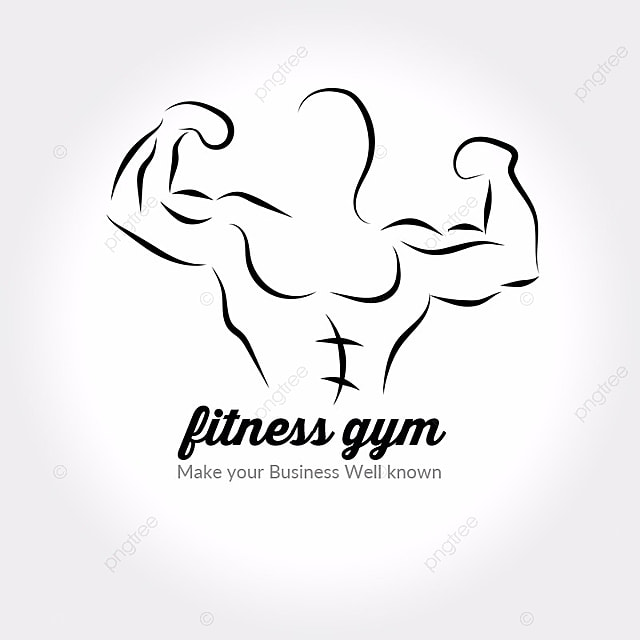 Body Fitness gym Logo Template for Free Download on Pngtree