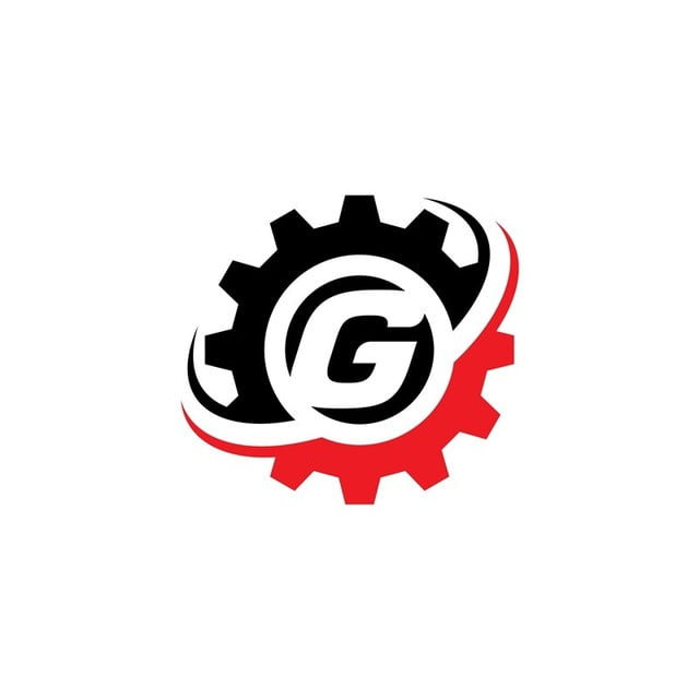 Letter G Gear Logo Design Template Template for Free