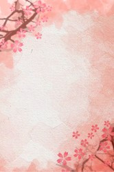Pink Flower Fresh And Simple Elegant Background Watercolor Flowers Pink Flowers Flowers Background Image for Free Download