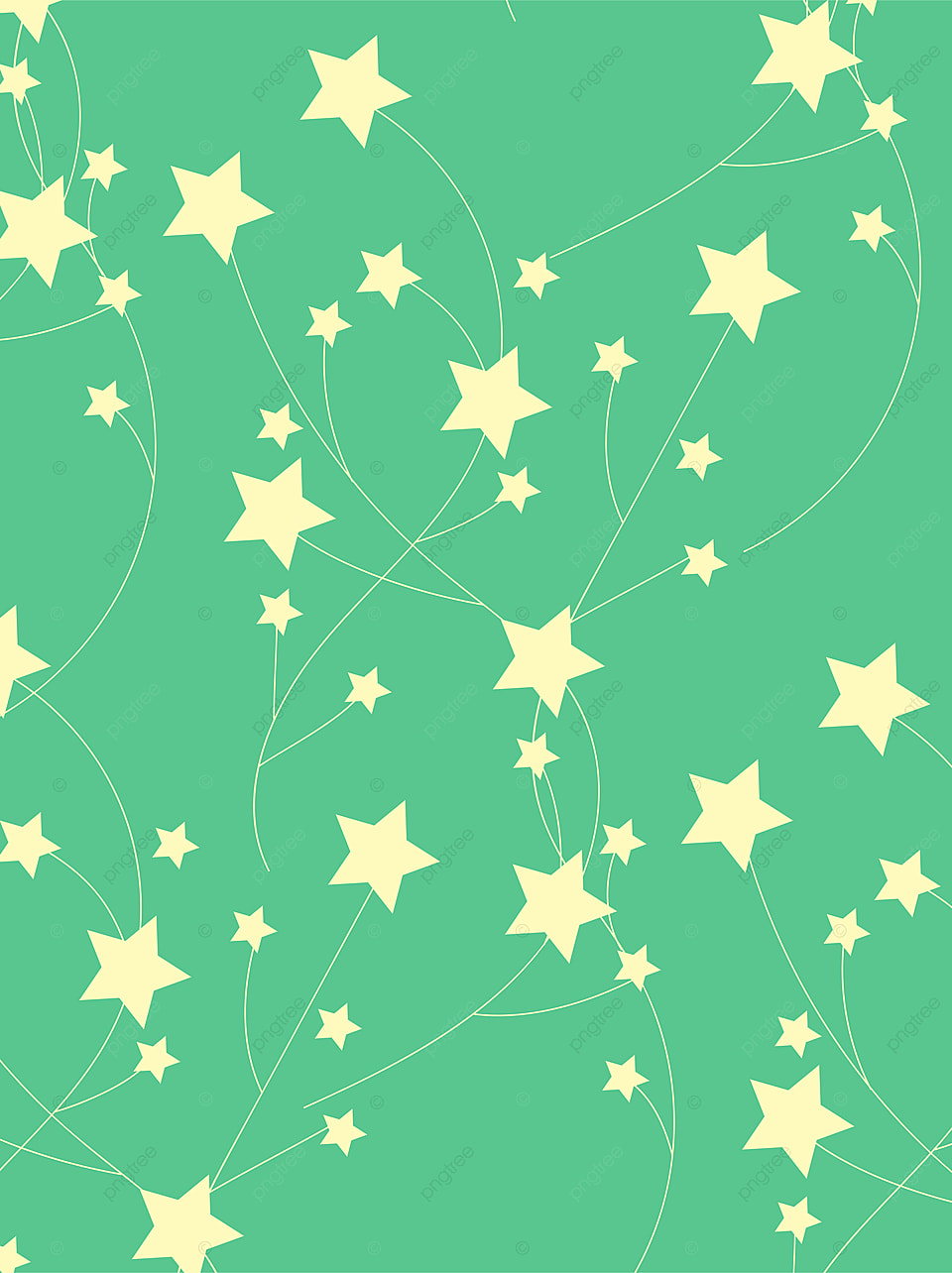 Background Bintang Png : background, bintang, Creative, Green, Stars, Yellow, Background,, Creativity,, Green,, Background, Image, Download