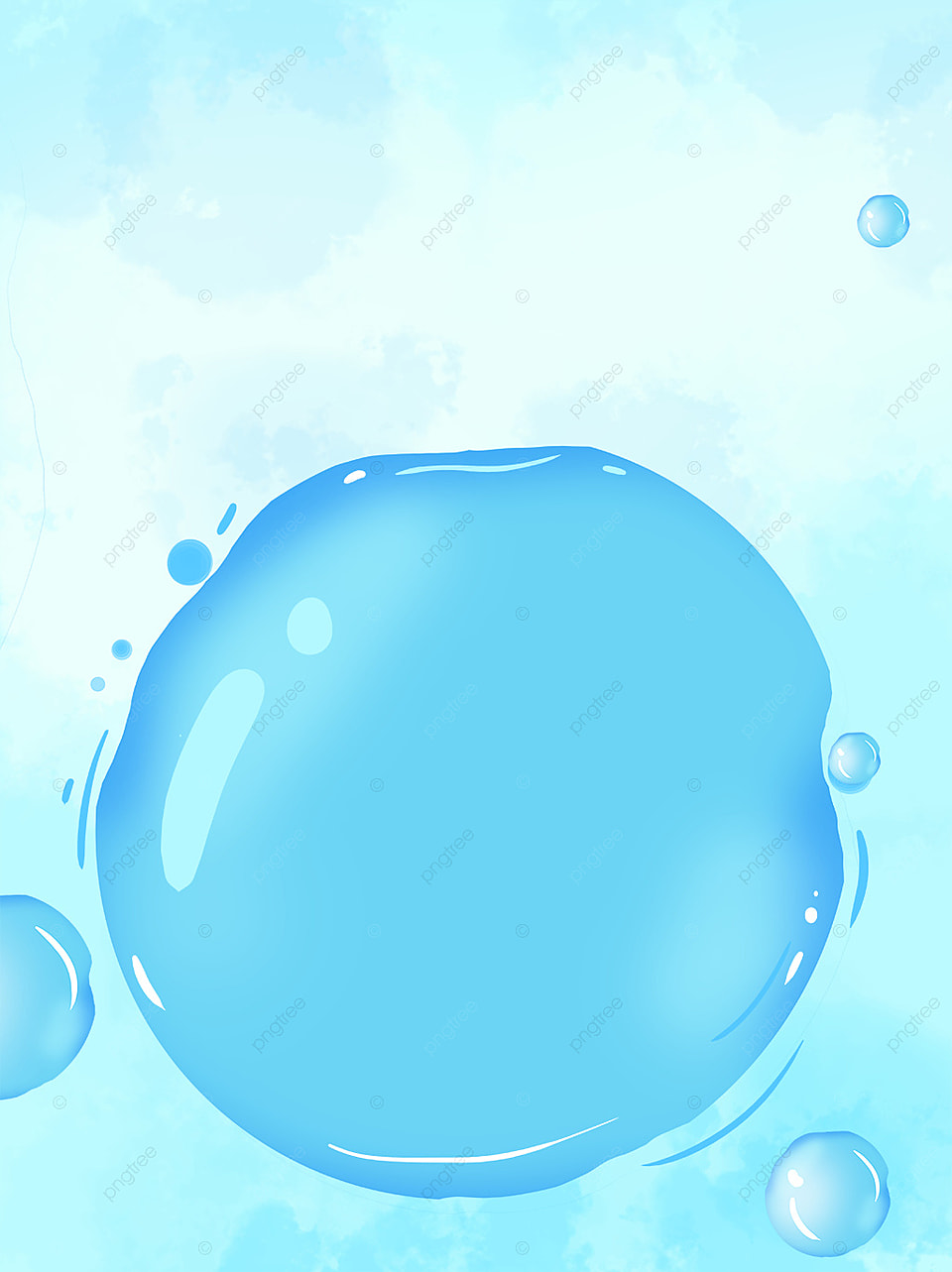 Background Biru Muda Png : background, Fresh, Beauty, Bubble, Background,, Background, Material,, Board,, Colorful, Image, Download