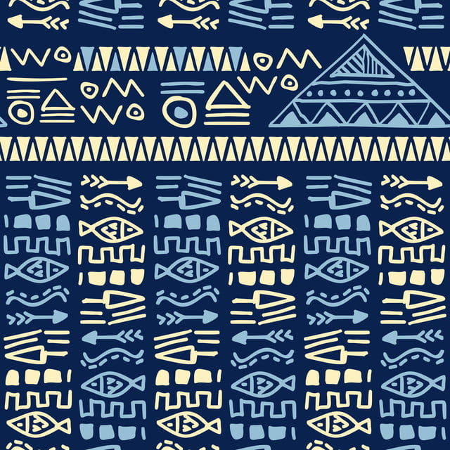 https fr pngtree com freebackground blue hand drawn ethnic tribal aztec style seamless pattern vector for fashion textile print 981500 html