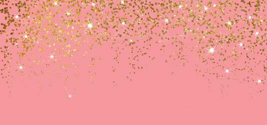 Golden Glitter Sparkle With Light In Pink Background Pastel Birthday Party Background Image for Free Download