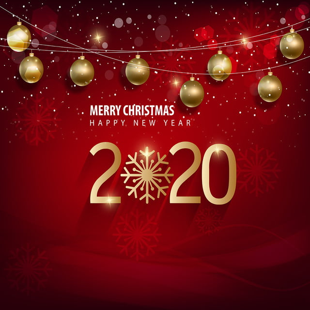 2020 Merry Christmas Background. 2020. 2020 New Year. Background Background Image for Free Download