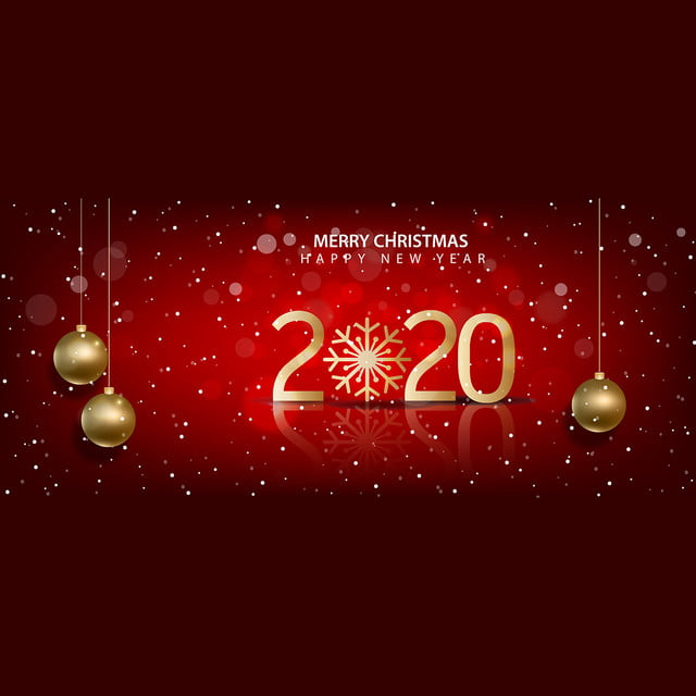 Happy 2020 Merry Christmas. 2020. 2020 New Year. Background Background Image for Free Download
