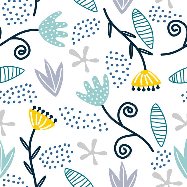 https fr pngtree com freebackground seamless repeat pattern with flowers and leaves scandinavian childish drawing background 1172101 html