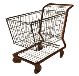 cart shopping transparent library clipart fallout fo3 clip carts wiki