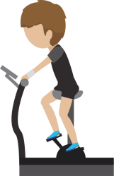 exercise clipart gym transparent hd cartoon treadmill resistance resolution webstockreview