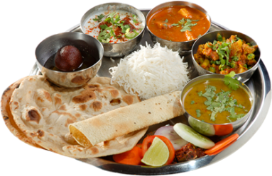 indian food veg thali transparent special file cuisine india north dishes restaurant dine fine format ia report