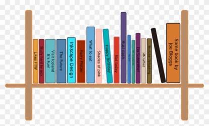 Clipart Transparent Bookshelf