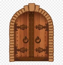 Clipart Barn Open Door Wooden Door Clipart HD Png Download 598x800 #1116434 PngFind