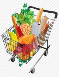 Grocery Shopping Cart Png Picture Shopping Cart With Groceries Png Transparent Png 2479x3508 #1300852 PngFind