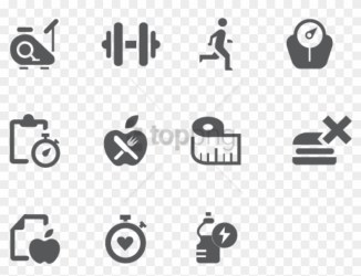 Free Png Fitness Icon Icons See Disclaimer Below Health And Fitness Icon Png Transparent Png 850x611 #1646469 PngFind