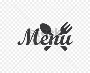Restaurant Menu Logo Icon Vector Graphic Vector Logo Menu Png Transparent Png 600x600 #1722484 PngFind